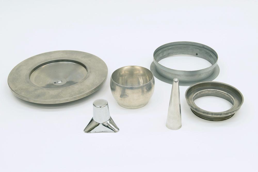 松内電器工業 株式会社 製造実績  各種ヘラ絞り製品