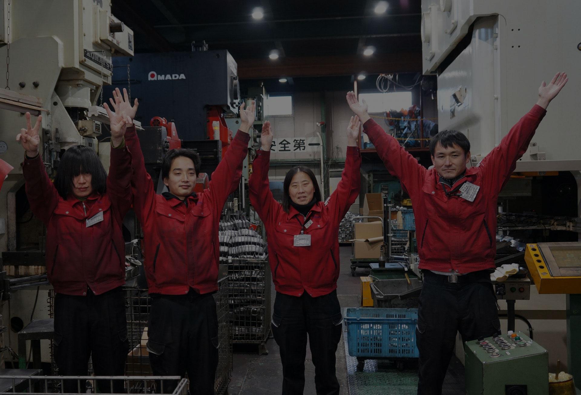 松内電器工業 株式会社 採用情報 スタッフ画像